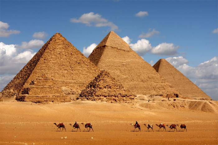 Pyramids-of-Egypt1 Egyptian Pyramids Architecture