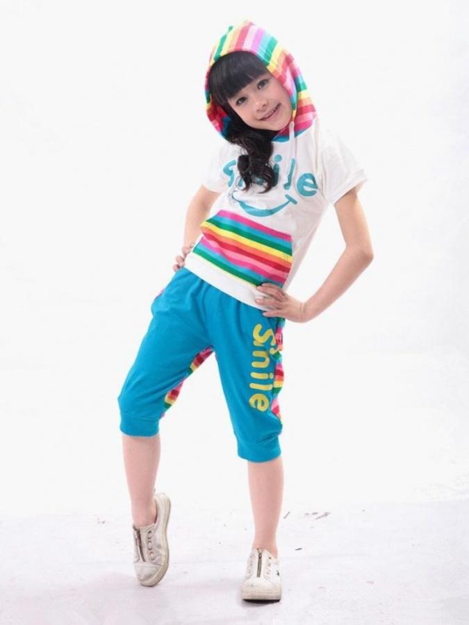 Rainbow-clothing Gorgeous Rainbow Kids Clothing