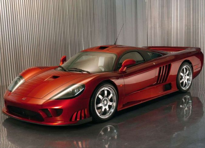 Saleen-S7-Twin-Turbo. Top 10 Fastest Cars in the World