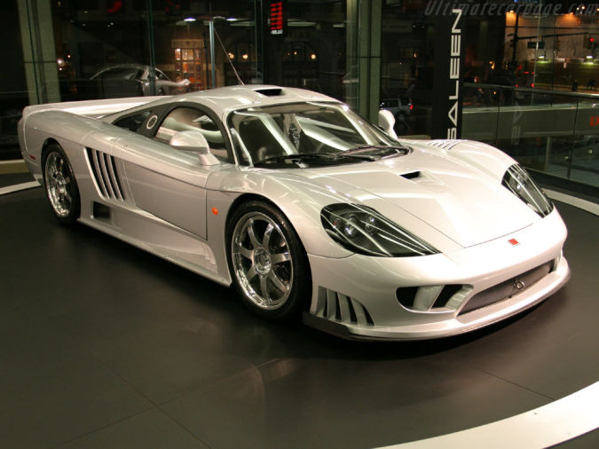 Saleen-S7-Twin-Turbo Top 10 Fastest Cars in the World