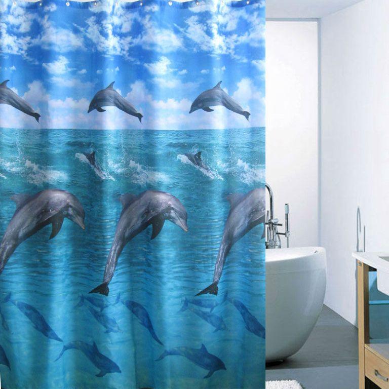 Shower-b-font-font-b-Curtain 10 Fabulous Kids Bathroom Accessories