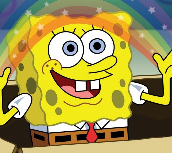 Spongebob-Rainbow-American-Animation-Anime-960x1080 SpongeBop SquarePants Animation