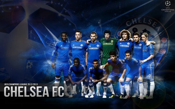 Squad-Chelsea-2013-HD Top 10 Football Teams in the World
