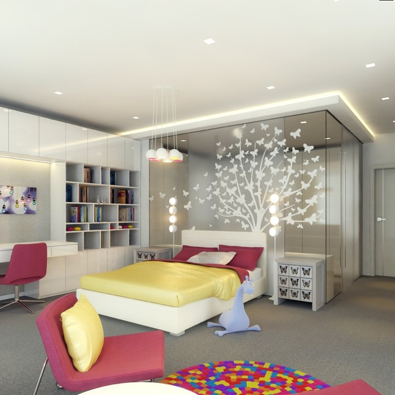 Superb_Colorful_Bedroom_Design Fascinating and Stunning Designs for Children's Bedroom