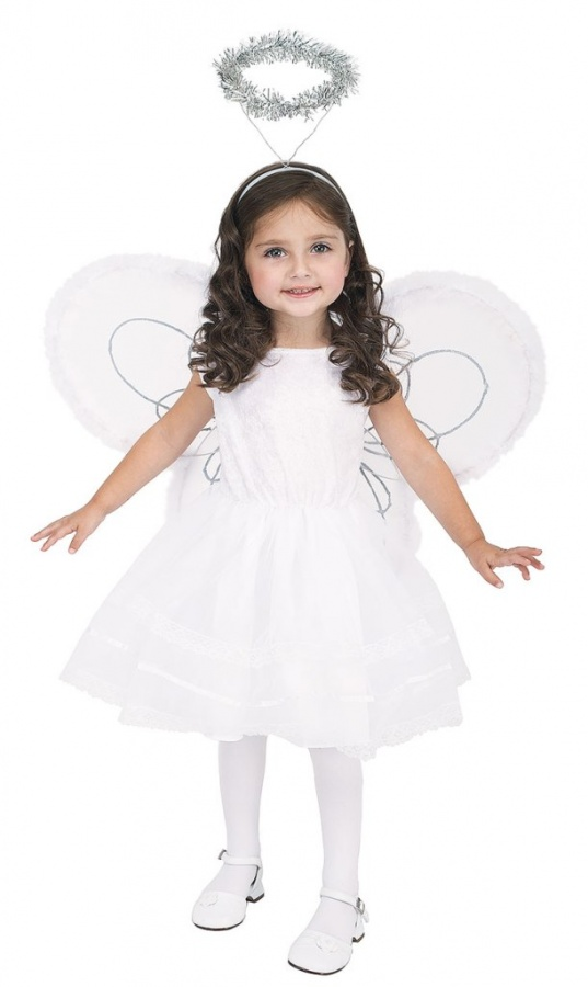 Toddler-Deluxe-Angel-Costume-large Most Stylish and Awesome Party Clothing for Girls