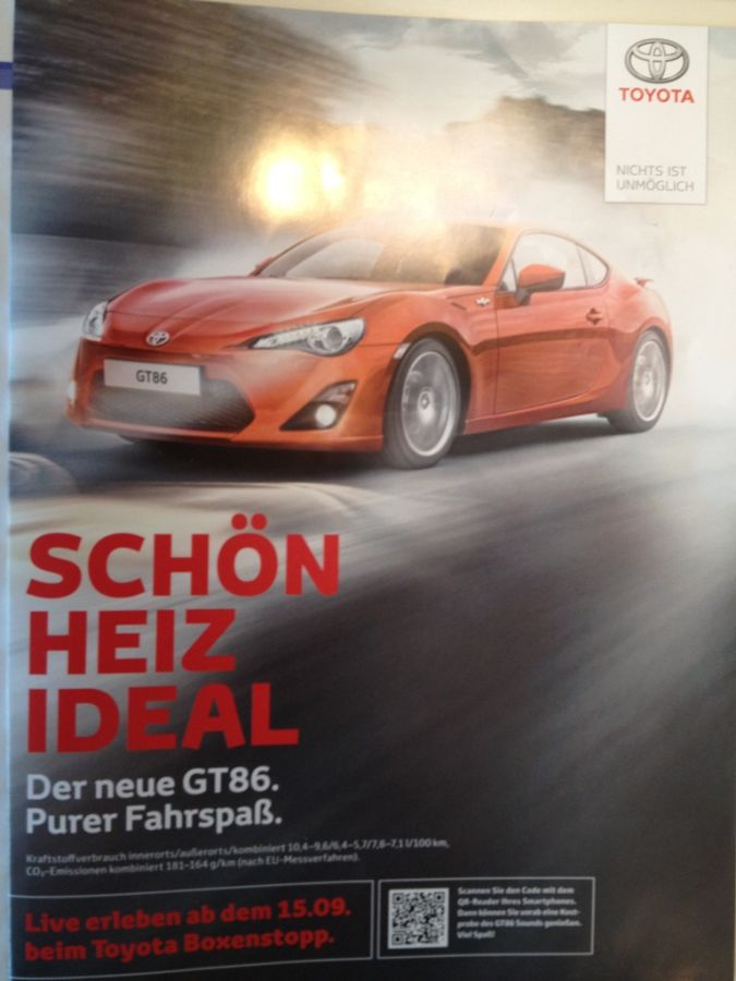 Toyota_QR-Code Top 10 Most Interactive Car Print Ads