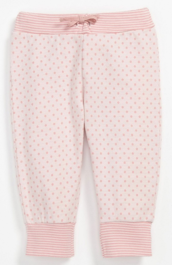 United-Colors-of-Benetton-Kids-Polka-Dot-Pants-Infant-Light-Pink-Dark-Pink-Dots-1 30 Cutest Baby Girl Pants