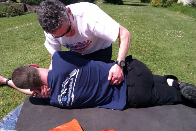 WFA3-clearing-the-spine What Is the Importance of Survival Courses?
