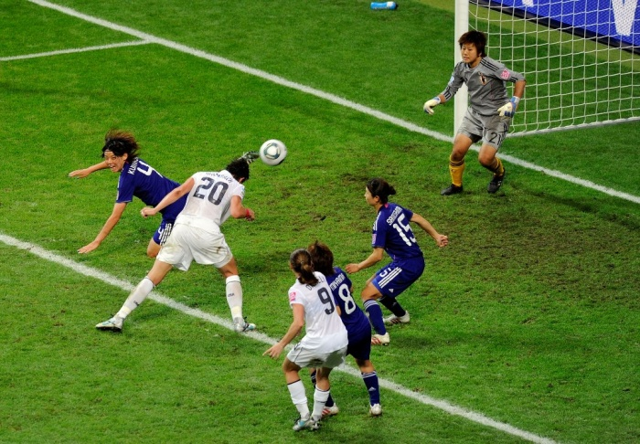 Wambach-Goal-Thorsten-Wagner FIFA Women's World Cup