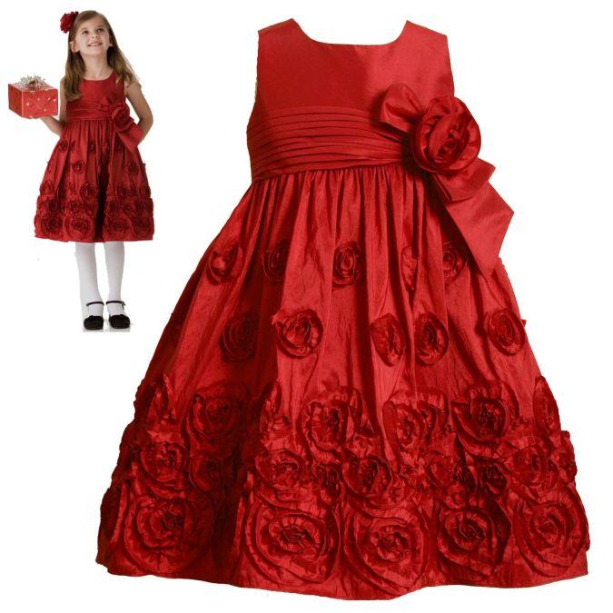 Wedding-dress-Flower-Girl-Christmas-2010 Fabulous Ceremonial Dresses For Kids