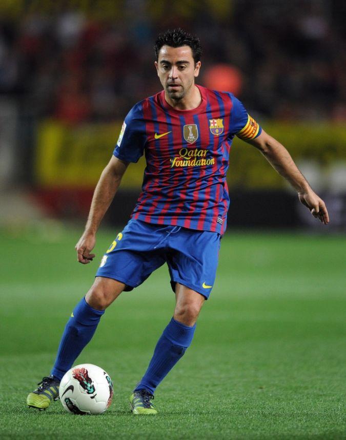 Xavi Top 10 Football Players