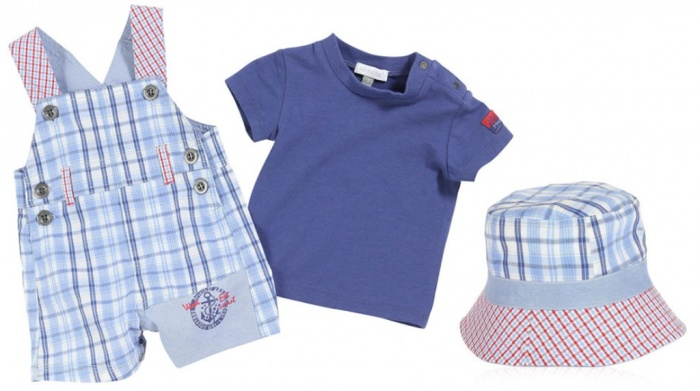 absorba_french-boy Top 15 Cutest Baby Clothes for Summer