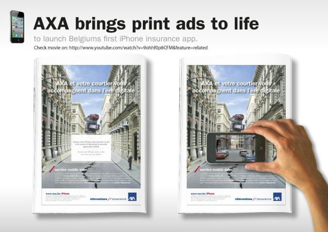 axa-brings-print-ads-to-life-original-93261 Top 10 Most Interactive Car Print Ads