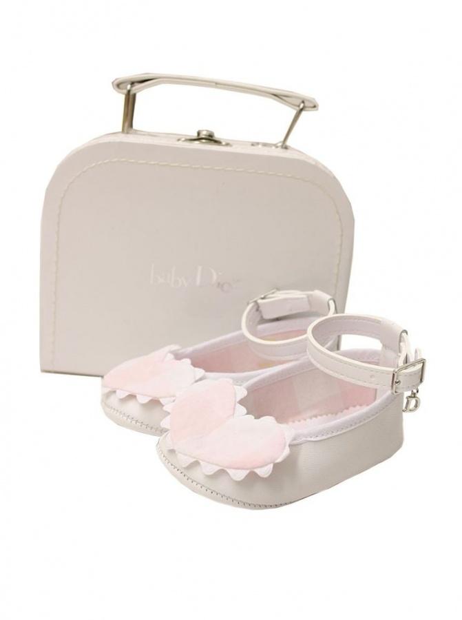 baby-dior-kids-girls-white-pink TOP 10 Stylish Baby Girls Shoes Fashion