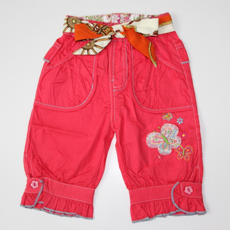 baby-girls-summer-pants-with-drawstring-and-cute-kids-pants 30 Cutest Baby Girl Pants