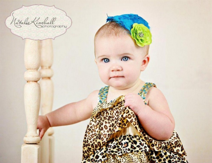 baby.1 50 Gorgeous Kids Hair Accessories and Hairstyles