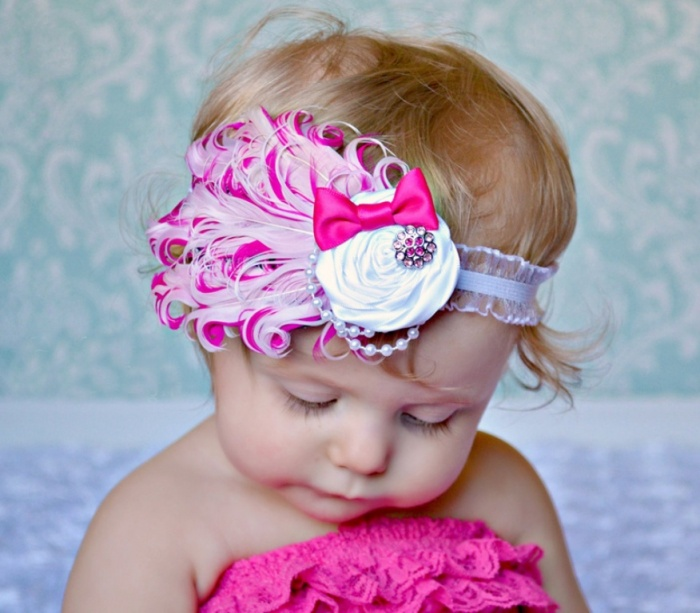 baby4 50 Gorgeous Kids Hair Accessories and Hairstyles