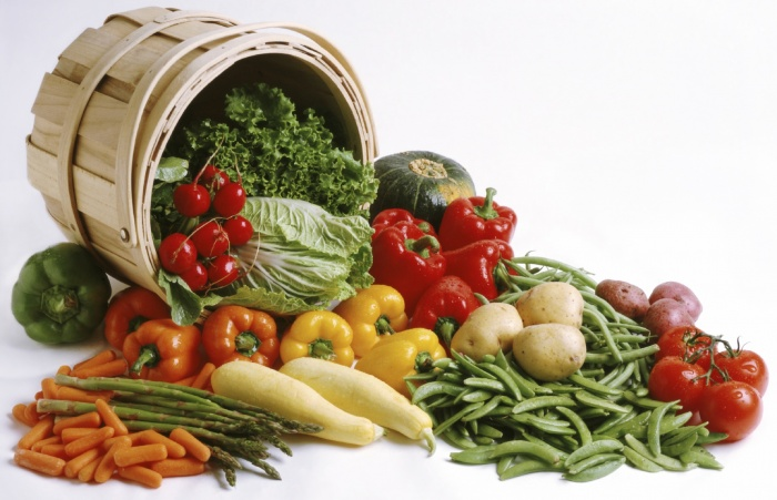 basket-of-vegetables Baskets For Fruits And Vegetables In Your Kitchen