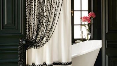Photo of Curtains' Designs For Bathrooms And Showers