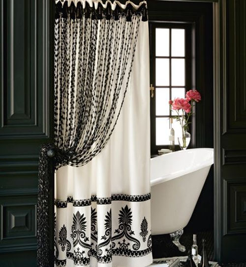 bath-shower-curtains-141 Curtains' Designs For Bathrooms And Showers