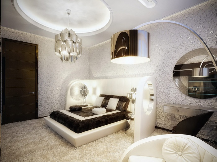 bedroom-lighting-idea Fabulous and Breathtaking Bedroom Designs