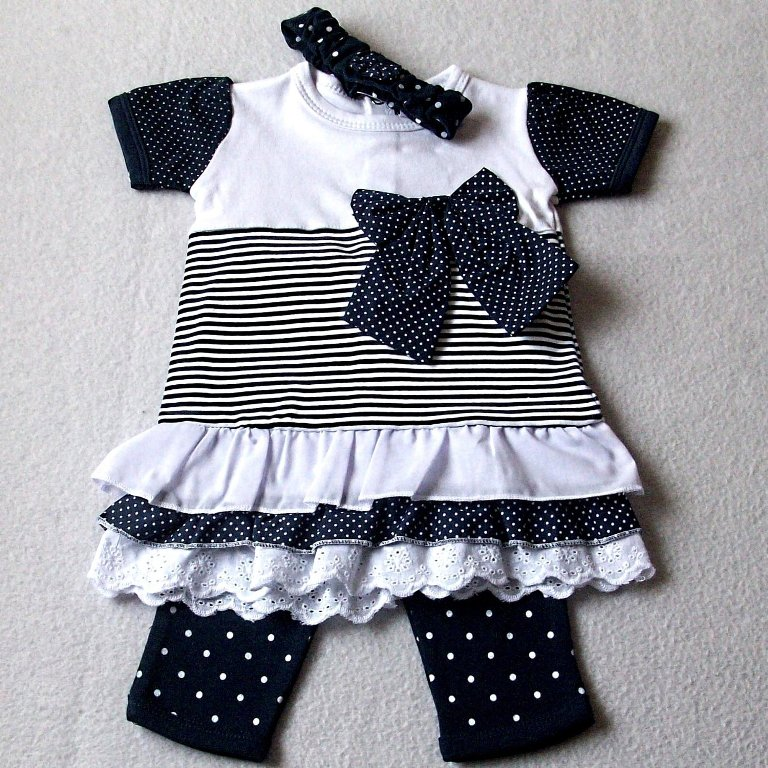black-and-white Top 15 Cutest Baby Clothes for Summer