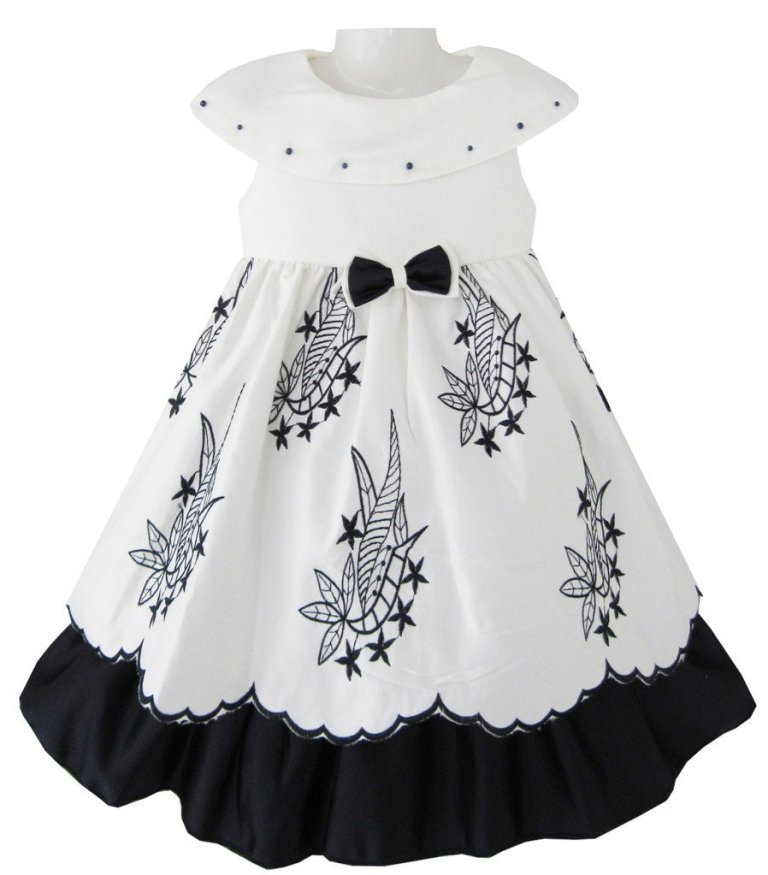 black-and-white1 Most Stylish and Awesome Party Clothing for Girls
