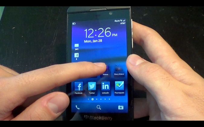 blackberry-10-lock-screen Blackberry 10 With Features And Applications