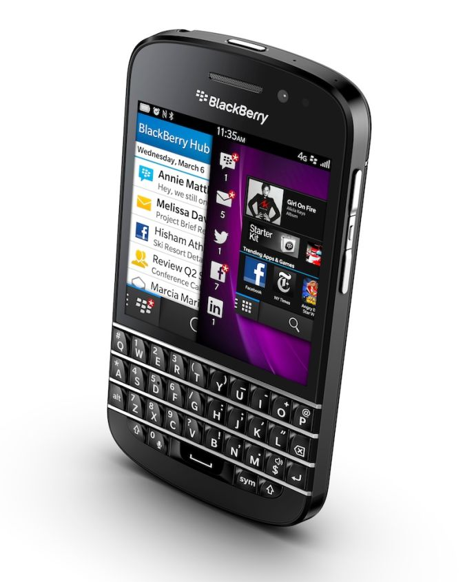 blackberry_q10 Blackberry 10 With Features And Applications