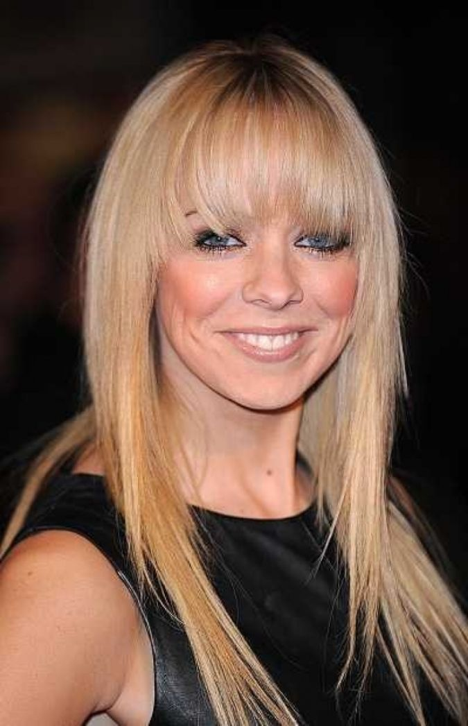 blonde-bangs-women-hairstyles- Newest Hairstyle For Women