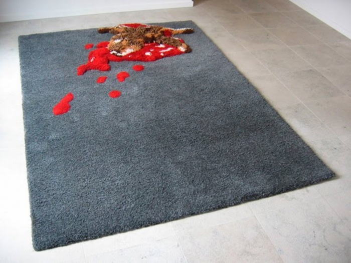 bloody Exotic and Creative Carpet Designs for Your Unique Home