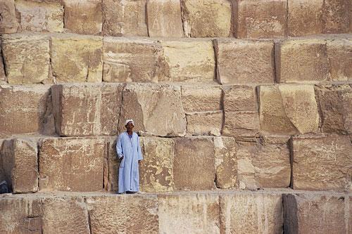 building-blocks-great-pyramid-500 Egyptian Pyramids Architecture