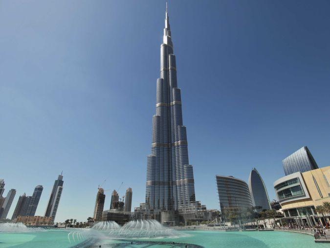 burj-khalifa-dubai The Most Famous Skyscrapers Around The World