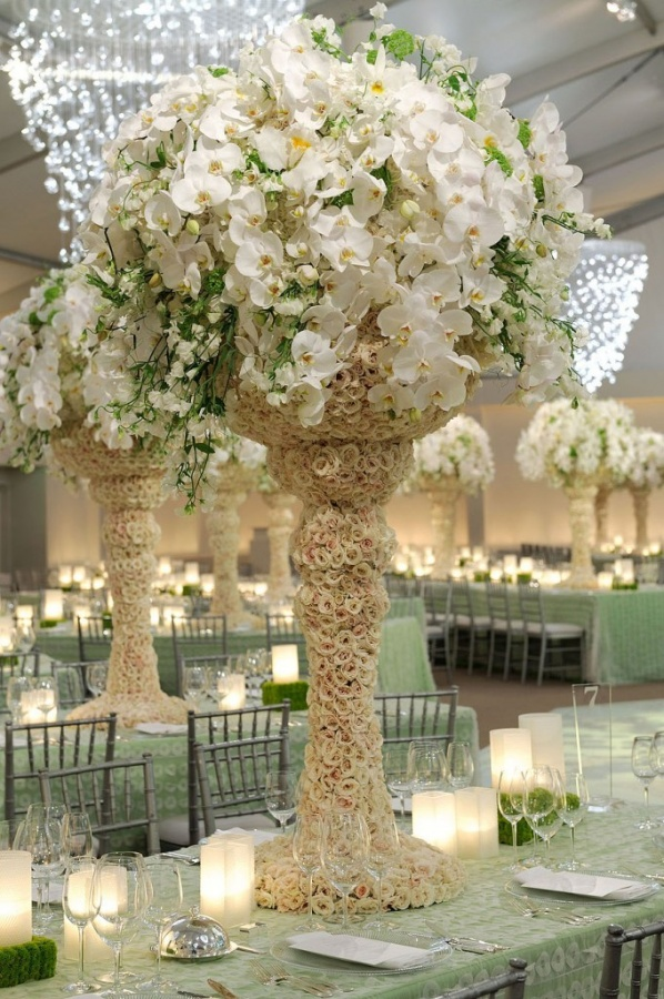 candle 50 Fabulous and Breathtaking Wedding Centerpieces