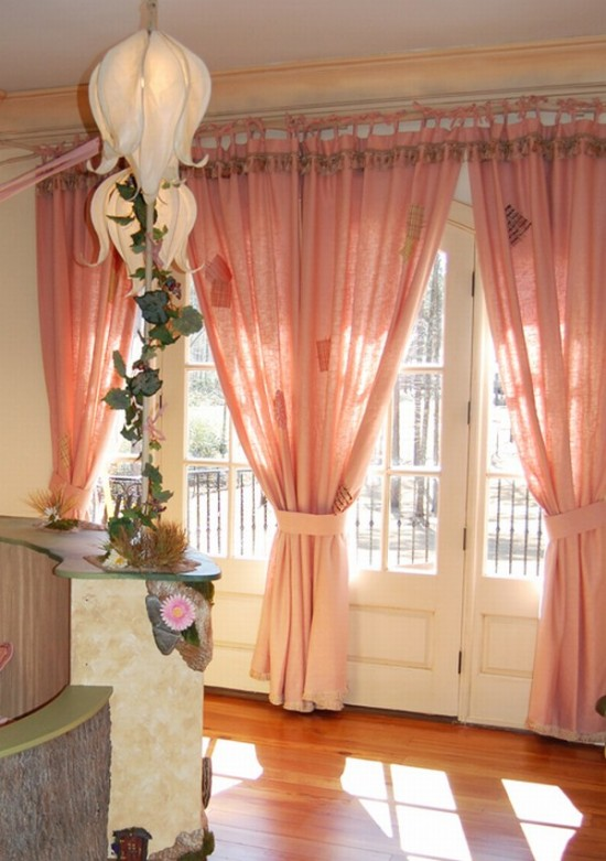cartoons-kids-room-curtain-design Curtains Have Great Power In Changing The Look Of Your Home