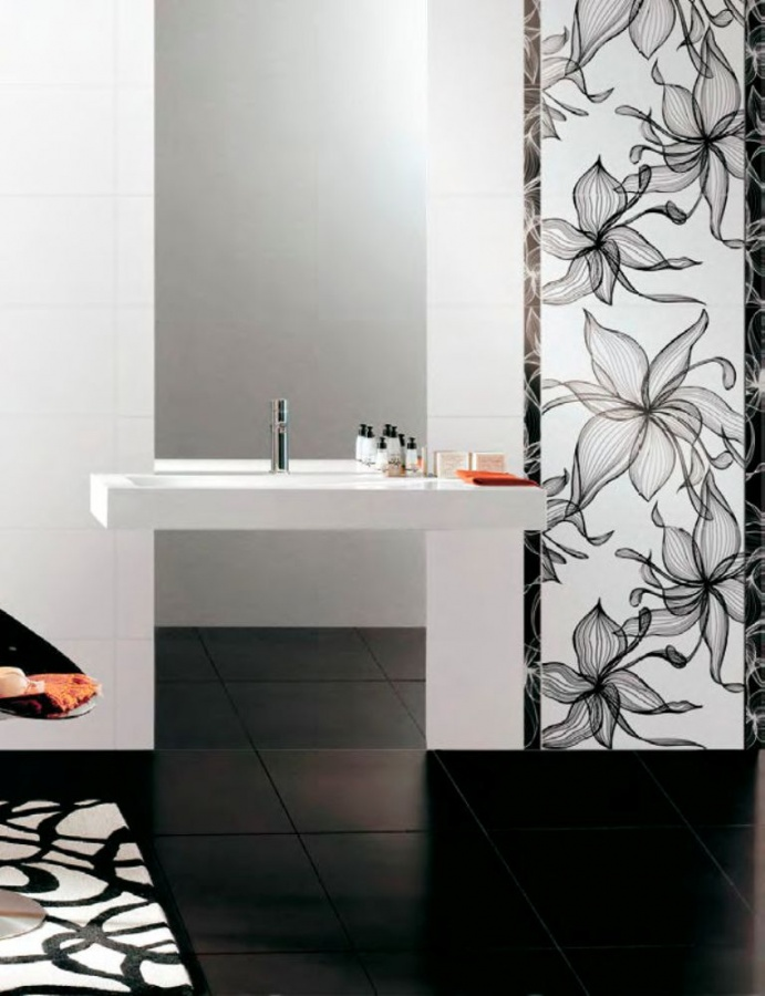 ceramic wall tile floral pattern4344563 What Are the Latest Home Decor Trends for 2014?