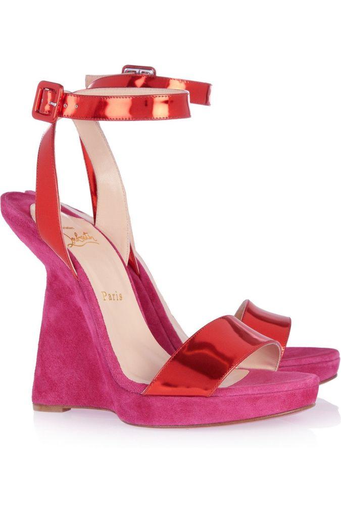 charming-red-heel-less-high-heels-sandals-red-bottom-wholesale-wedge-sandals Wearing High Heels Makes You Look Slimmer