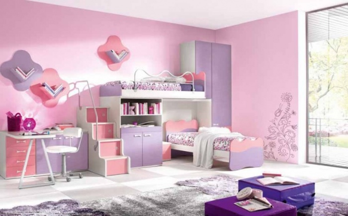 chic-kids-rooms-Desain-Keren-Kamar-Tidur-Anak-Yang-Menakjubkan Fascinating and Stunning Designs for Children's Bedroom