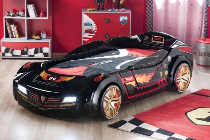 children-s-car-beds-racing Fascinating and Stunning Designs for Children's Bedroom