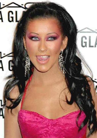 christina-aguilera-2 Top 12 Ugliest Celebrity Makeup