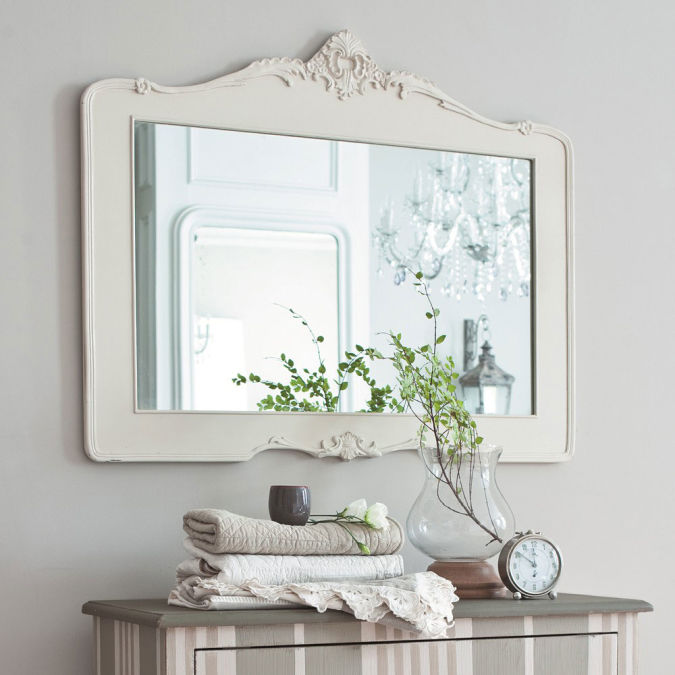 classic-white-ideas-for-bathroom-mirrors Make a Big Difference In Your Home By Adding Mirrors