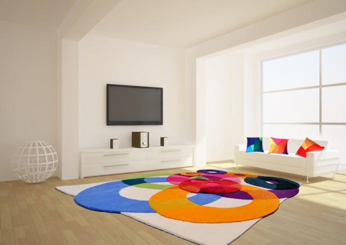 colorful. Exotic and Creative Carpet Designs for Your Unique Home