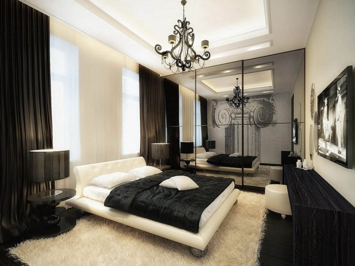 contemporary-black-bedroom-furniture Fabulous and Breathtaking Bedroom Designs