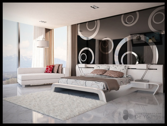 contemporary Fabulous and Breathtaking Bedroom Designs