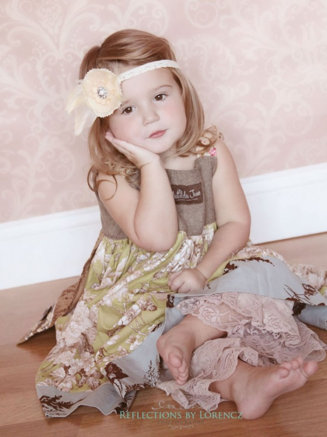 cream 50 Gorgeous Kids Hair Accessories and Hairstyles
