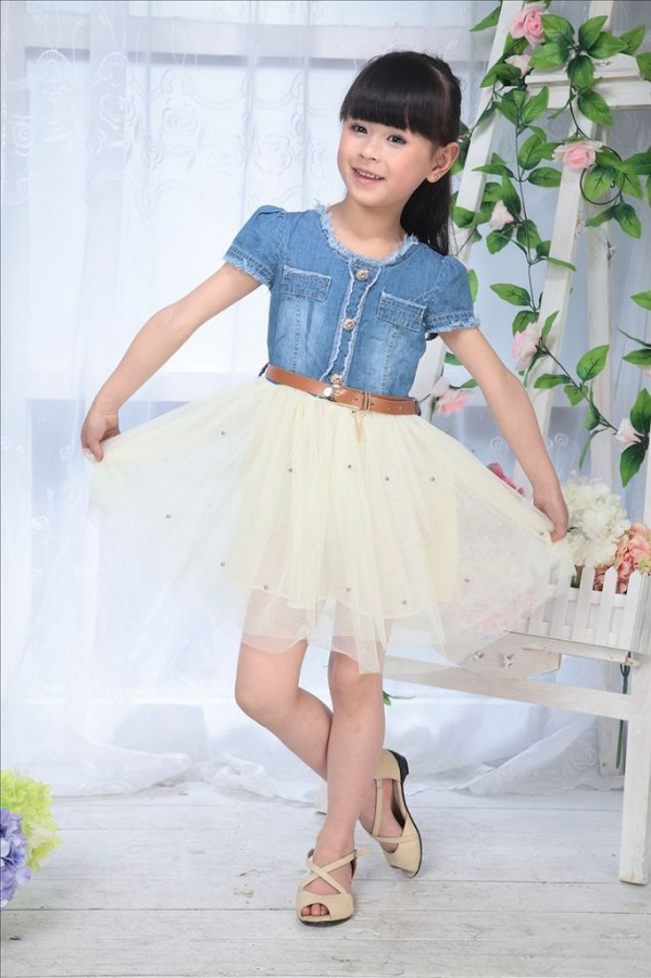 cream1 Most Stylish and Awesome Party Clothing for Girls
