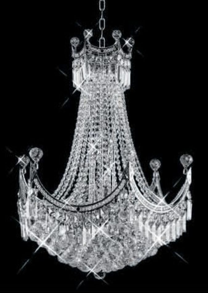 crystal-chandelier-modern Choosing The Perfect Chandelier
