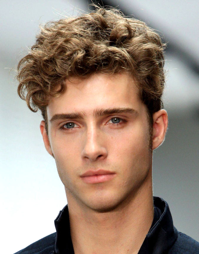 curly-hairstyles-for-men Hairstyles For Men