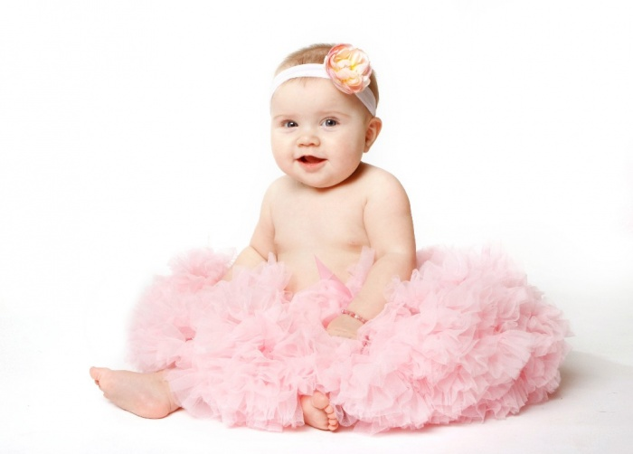 cute-baby1 50 Gorgeous Kids Hair Accessories and Hairstyles