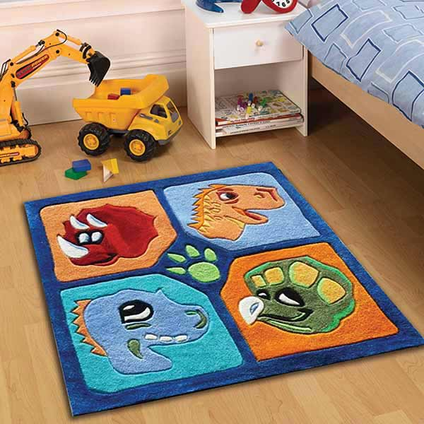 dino-rug-multi-0 Kids' Rugs Are Not Just For Decoration, But An Educational Method